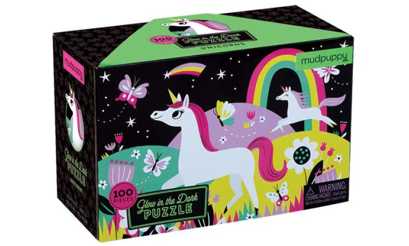 100 piece unicorn puzzle