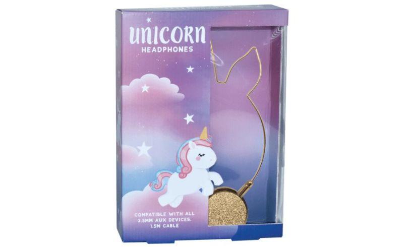 Unicorn headphones box