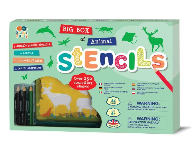 Big Box of Animal Stencils