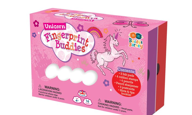Unicorn Fingerprint Buddies