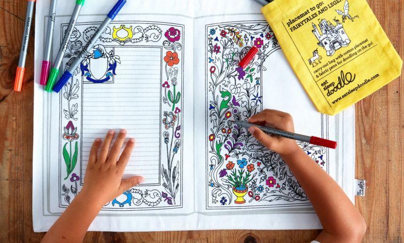 Fairytales & Legends Colour in Placemat