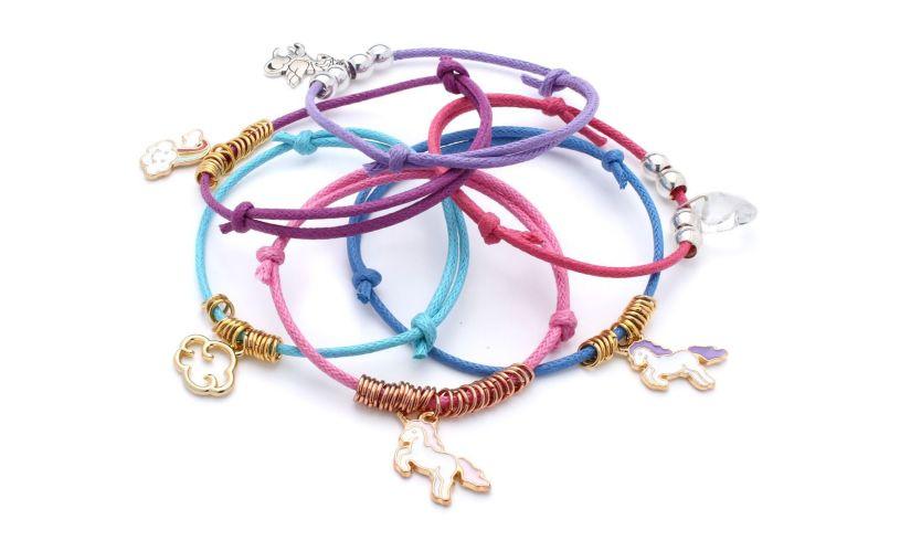 Unicorn Friendship Charm Bracelets