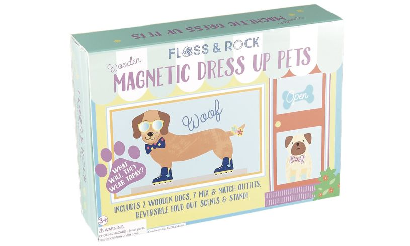 Floss and Rock Magnetic Dress Up Pets