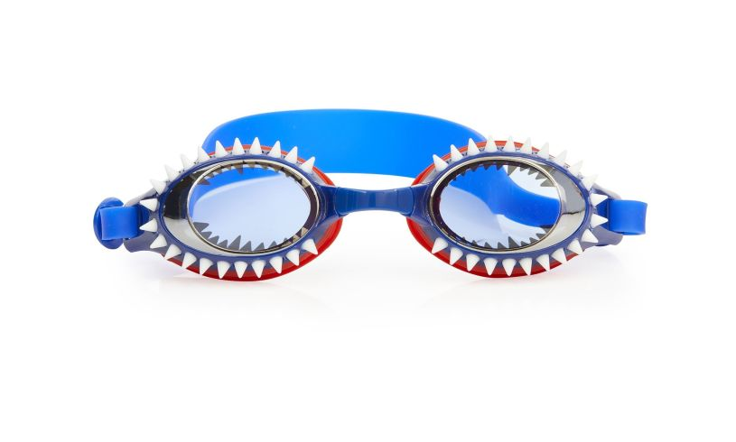 Tiger Shark Navy Goggles Bling2o