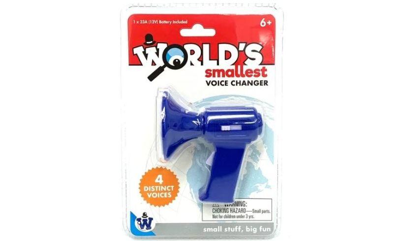 World's Smallest Voice Changer
