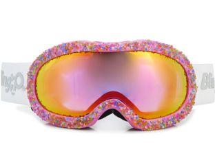 Rainbow ice ski goggles