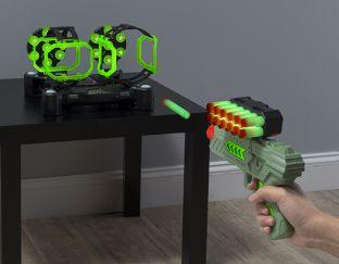 Air Shot Hovering Ball Shooting Game