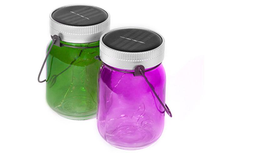 Fairy jars Thumbs UP