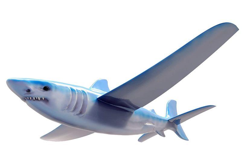 Real flyer diggin shark glider