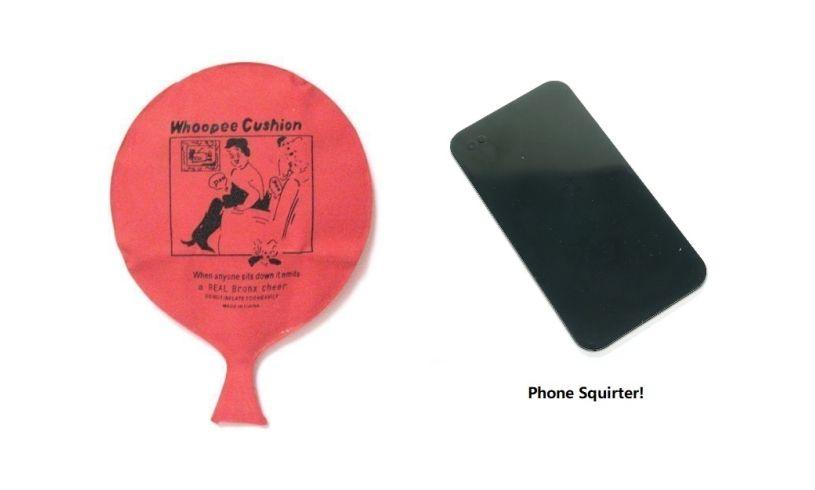 Whoopee Cushion Phone Squirter