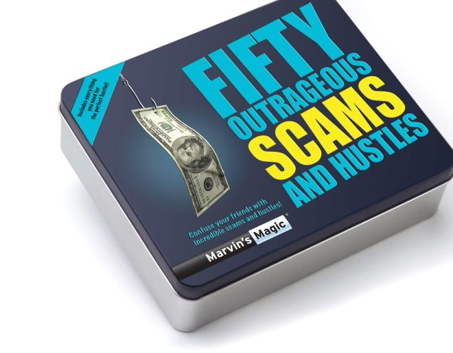 Marvin's Magic fifty outrareous scams and hustles