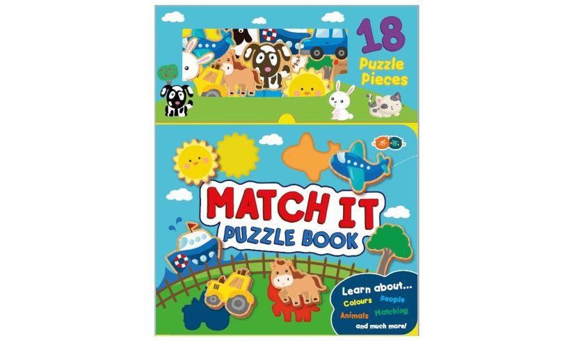 Match It Puzzle Book