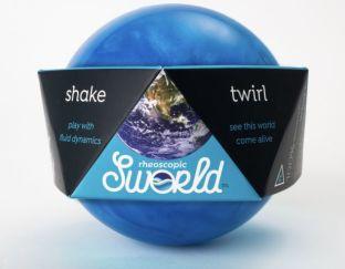Sworld ball in use