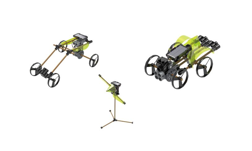 Thames & Kosmos Solar Powered Rovers 1 in 5