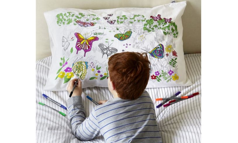 Butterfly Pillowcase Lifestyle