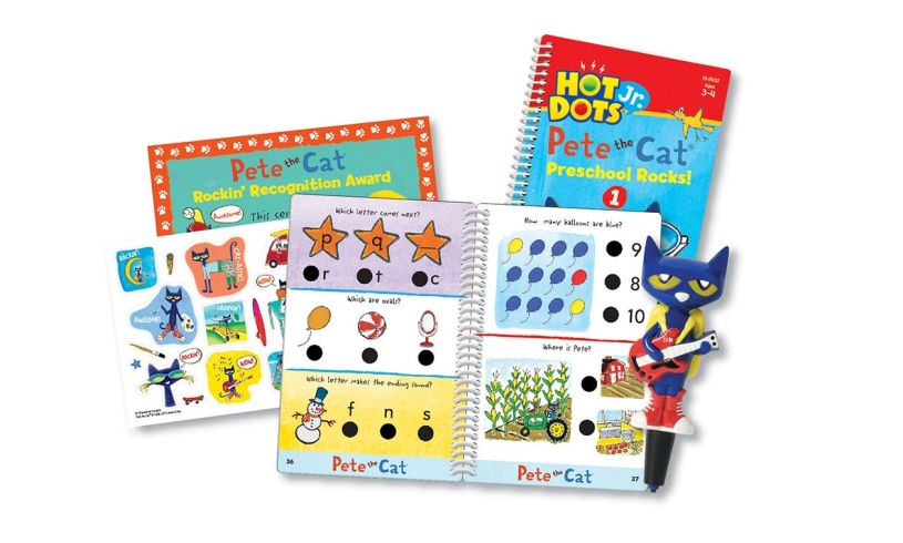 Pete the cat contents