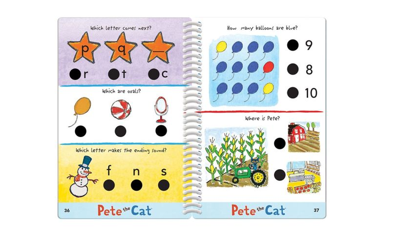 Pete the Cat exmaples