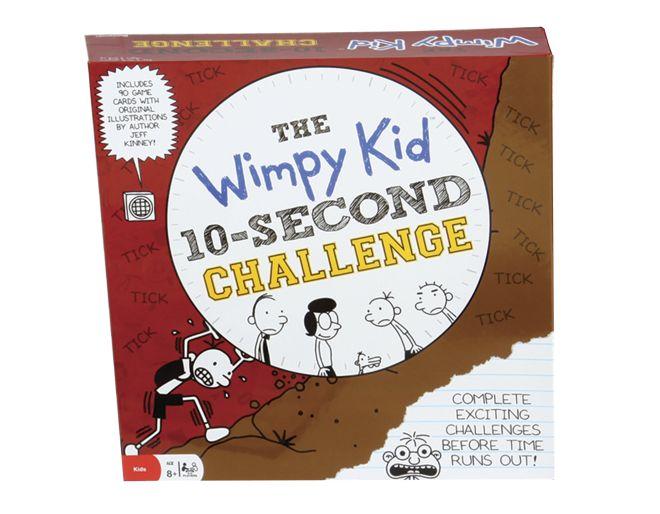 Wimpy kid 10 second challenge box