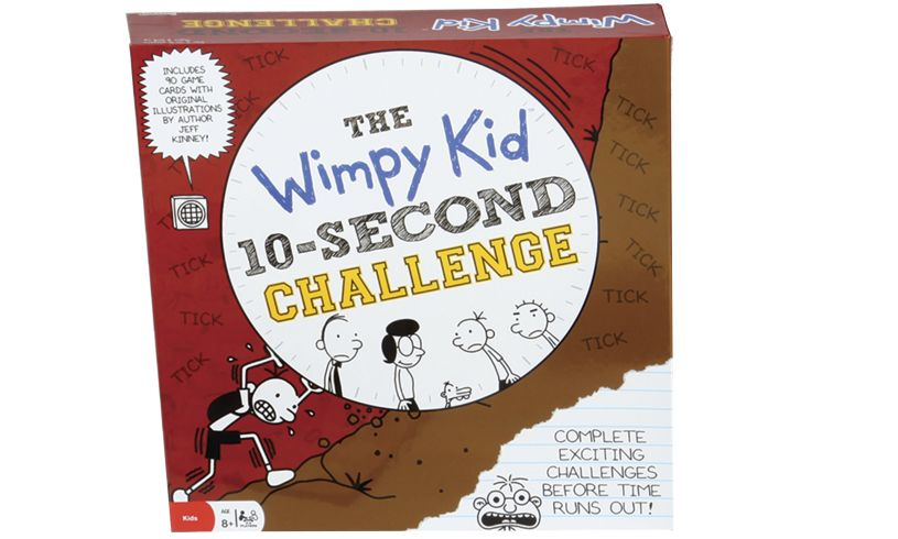 Wimpy kid 10 second challenge box