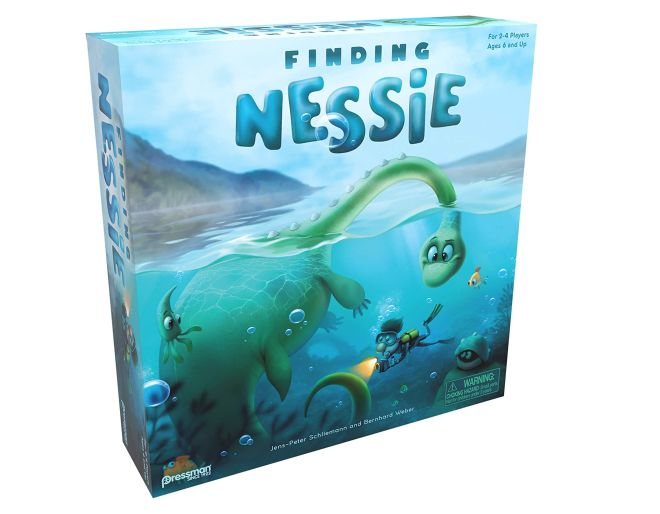 Finding Nessie box