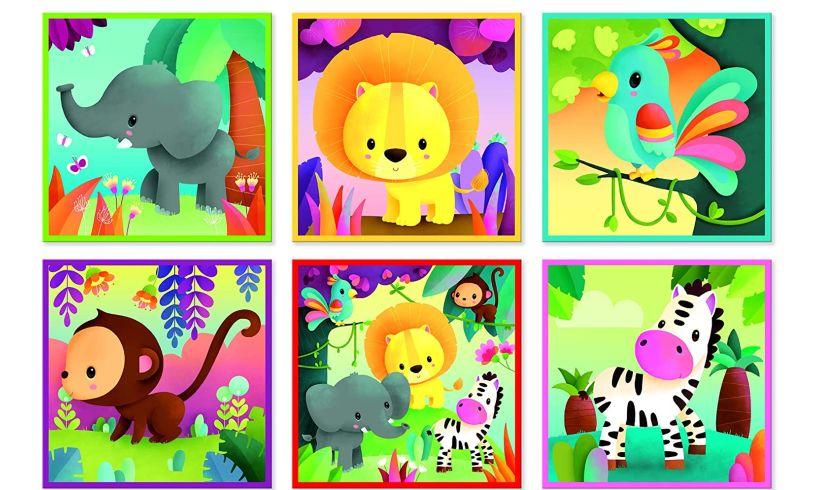 Janod jungle puzzles