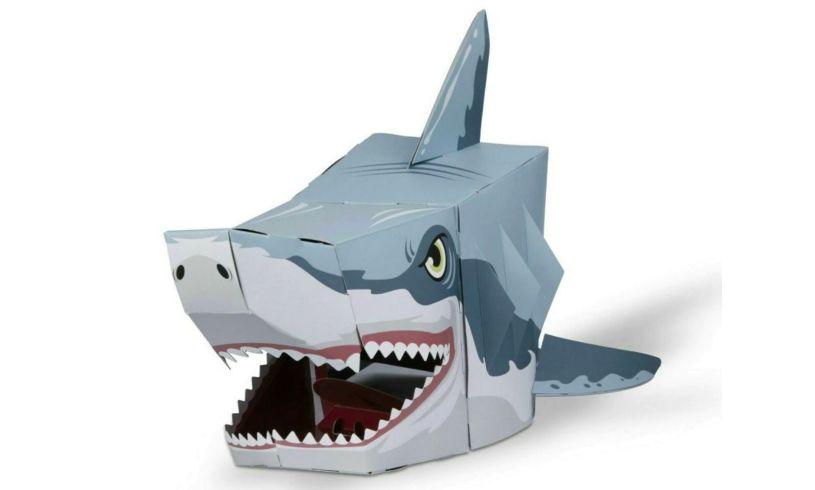 3D Shark Head Mask