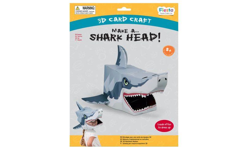 Fiesta 3D Shark Head Mask