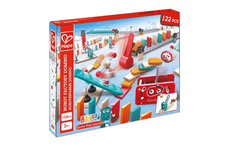 Robot Factory Domino Box