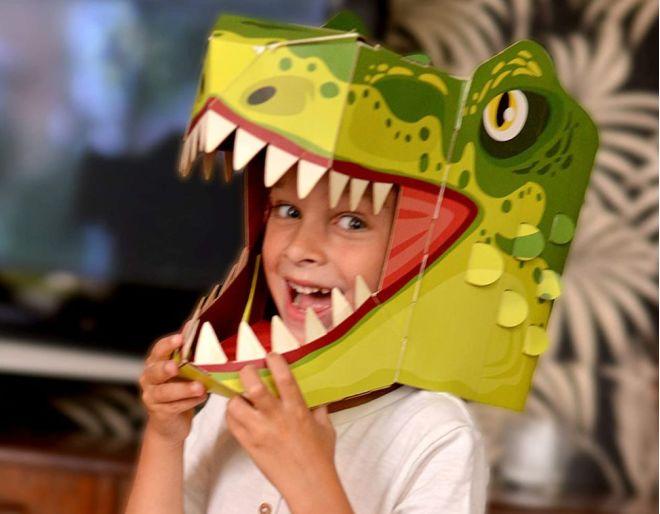 Fiesta Crafts 3D T-Rex Head Mask