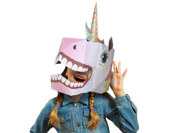 Fiesta Crafts 3D Unicorn Head Mask