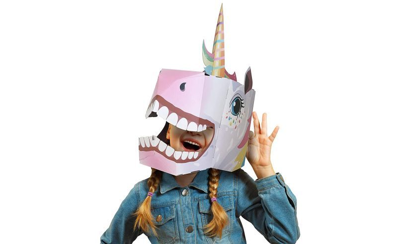 Fiesta Crafts 3D Unicorn Head Mask