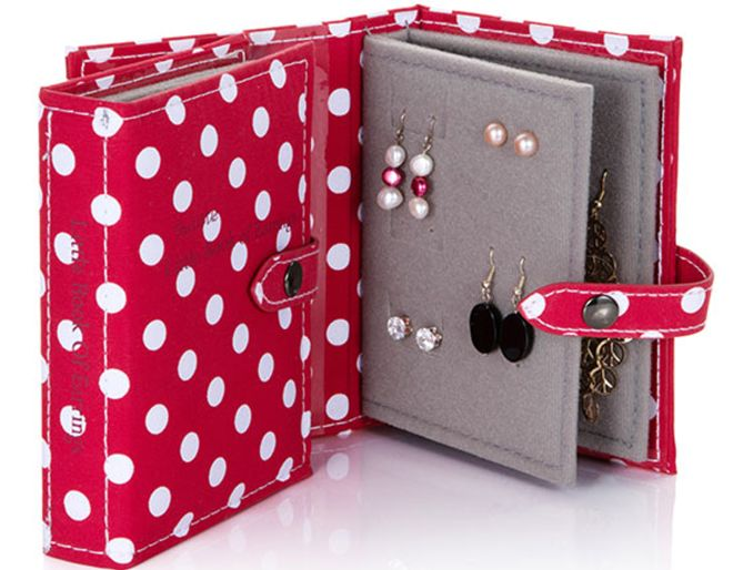 Polka Dot Book of Earrings