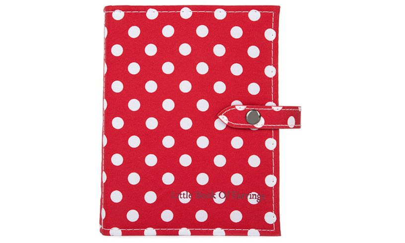 Red Polka Dot Book of Earrings