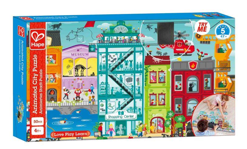 City Puzzle box