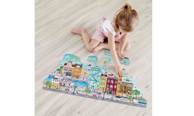 City Puzzle in use