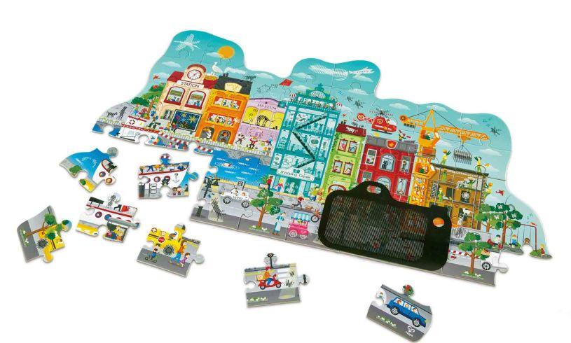 City puzzle contents