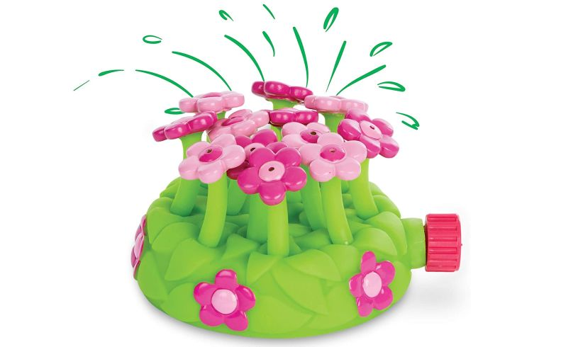 Petals sprinkler Melissa and Doug lifestyle