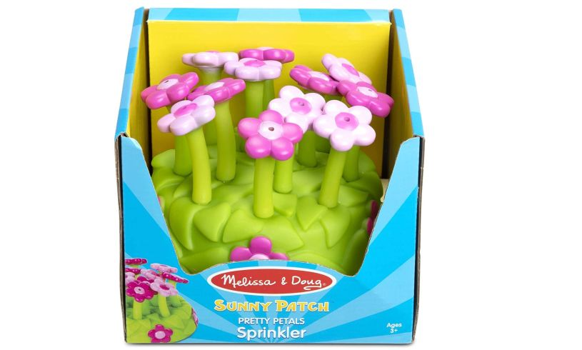 Petals sprinkler Melissa and Doug in box