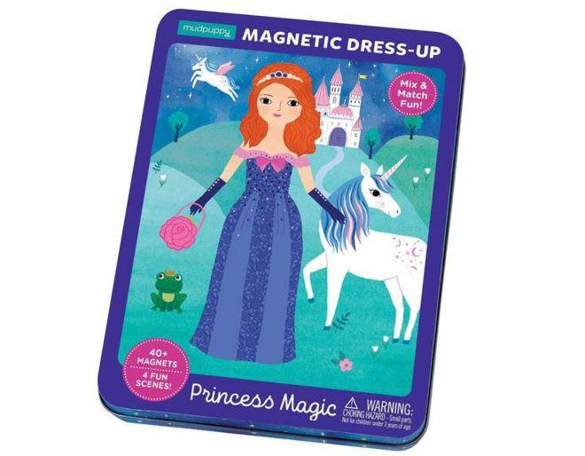 Mudpuppy Magnetic Dress Up Princess