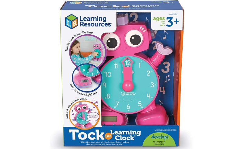 Tock the learning clock box