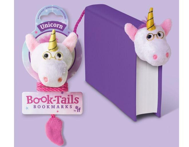 Book Tails Unicorn Bookmark
