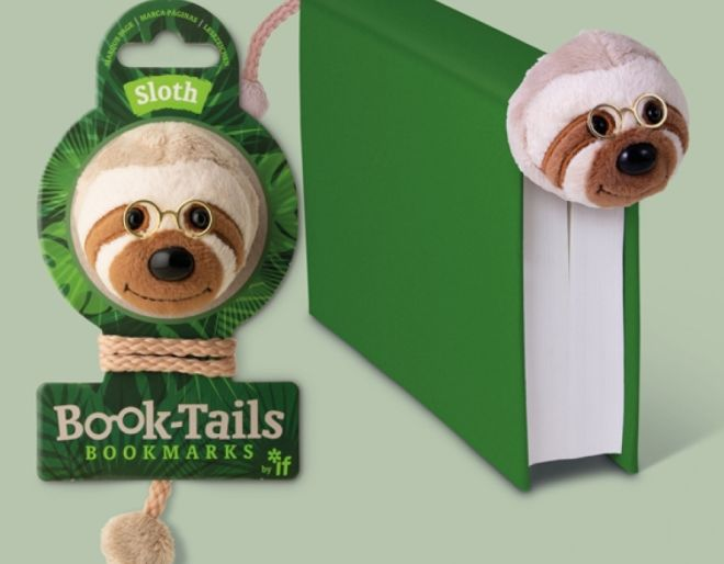 Book Tails - Sloth in use