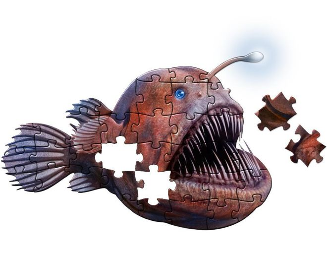 Anglerfish puzzle
