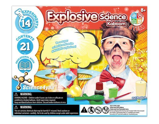 Explosive Science Kaboom Experiments