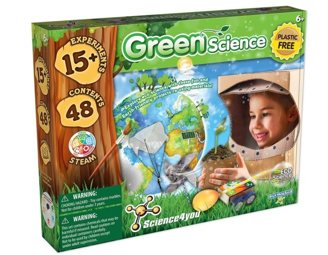 Green Science Experiments Box