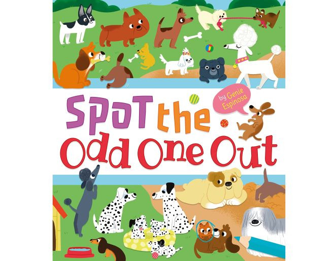 Spot the odd one out book at puzzle challenges