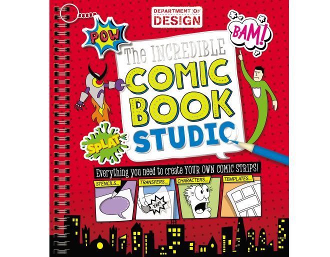 Comic Book Studio Book cover