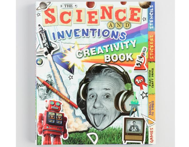 Science & Inventions Creativity Book