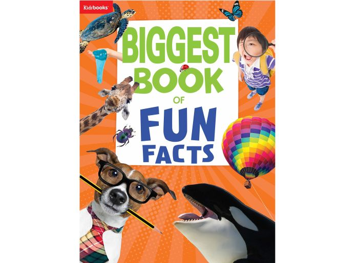 Biggest Book of Fun Facts paperback