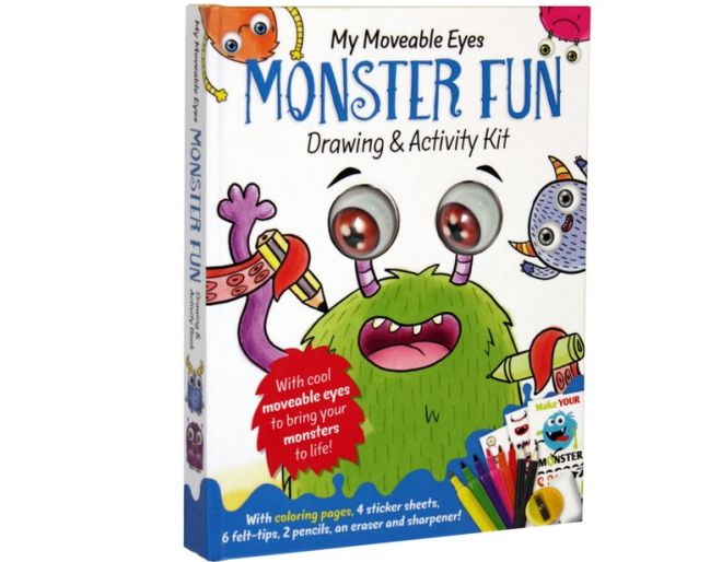 My Moveable Eyes Monster Fun